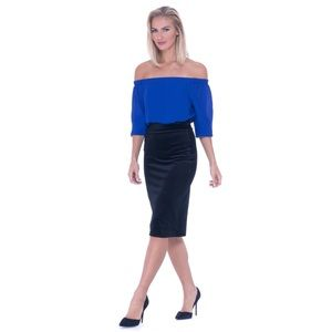 Dresses & Skirts - Velvet Pencil Skirt